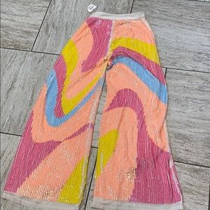 Nasty Gal sequin pants (6)